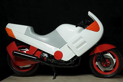 frog rana motorbike